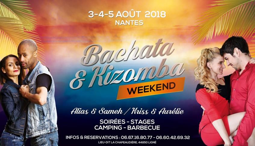 Week-End Kizomba & Bachata Nantes 03/05 AOUT 2018